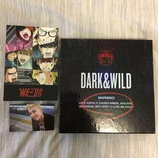 BTS Dark & Wild Album (w/ PC)