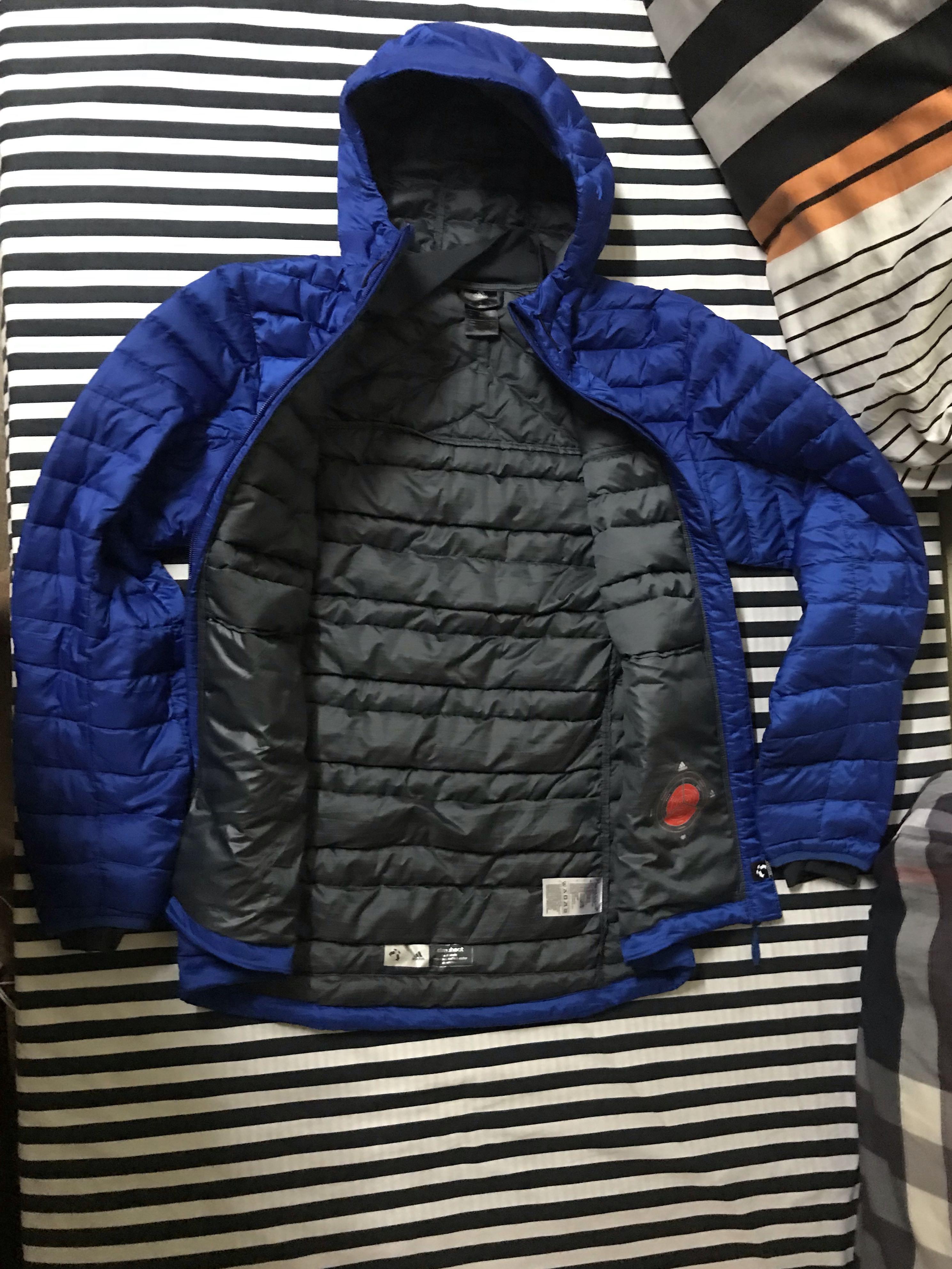 a5cc82b9c9fa6 ADIDAS ORIGINAL PUFFER Hoodie Jacket Medium, Men's Fashion, Clothes ...
