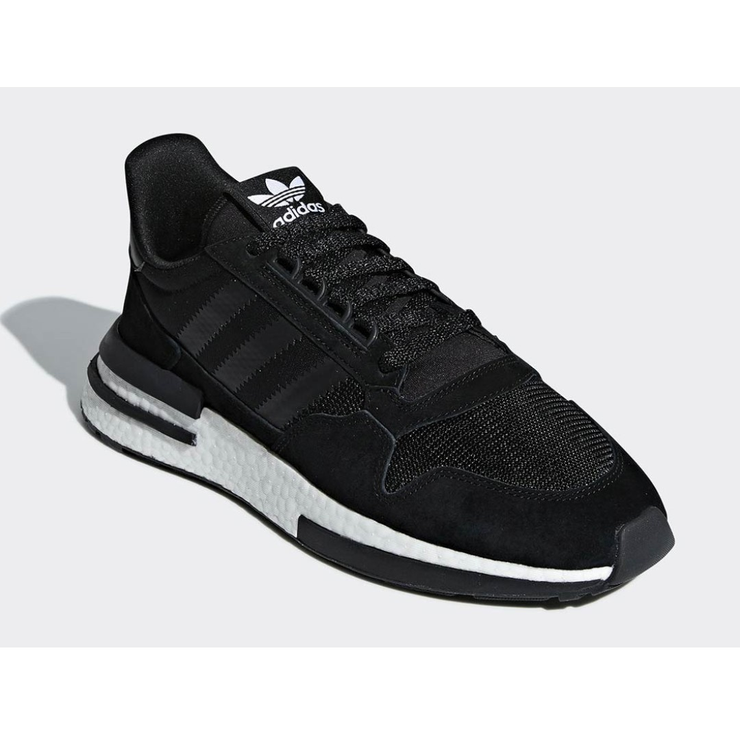701a2db6acba35 Authentic Adidas ZX500 RM Black White