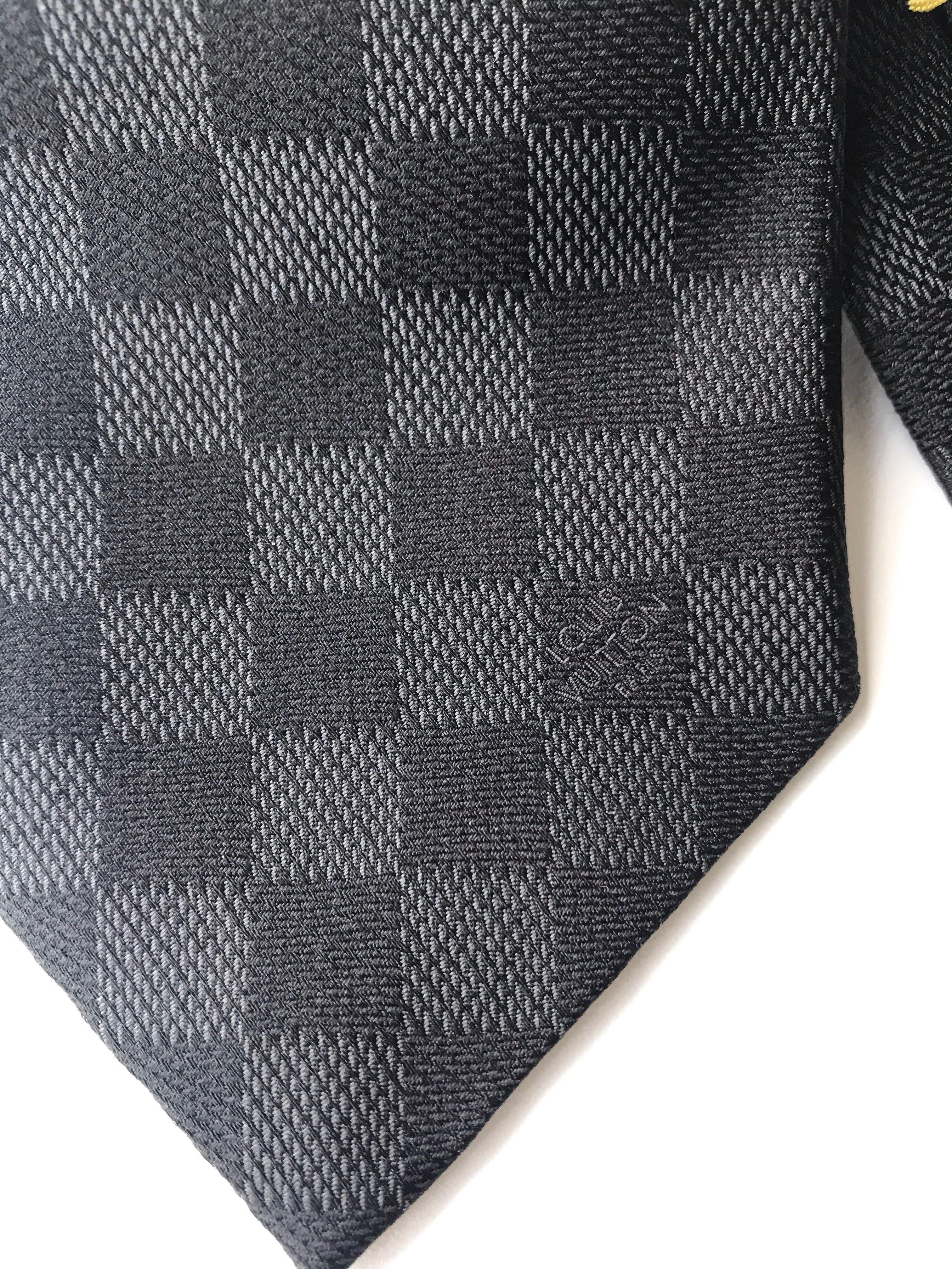 38f05cc65fc3 Authentic Louis Vuitton Damier Classique Tie