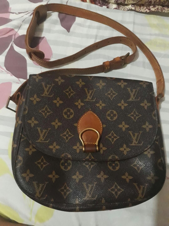 9055ad1b1a2f Authentic Louis Vuitton Monogram Saint Cloud