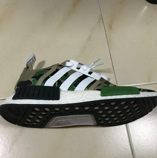 8d6ab12c Bape X Adidas NMD, Men's Fashion, Footwear, Sneakers on Carousell