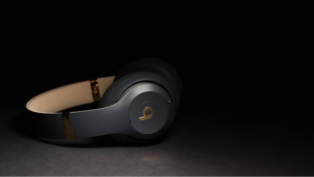 89947b83a76 Beats Studio3 Wireless Over‑Ear Headphones - Shadow Grey, Electronics,  Audio on Carousell