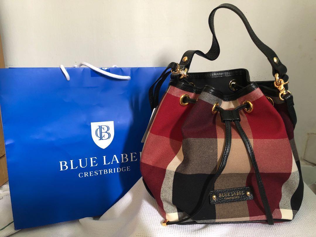 Blue Label Crestbridge Bucket Bag, Women s Fashion, Bags   Wallets ... a9be03f097