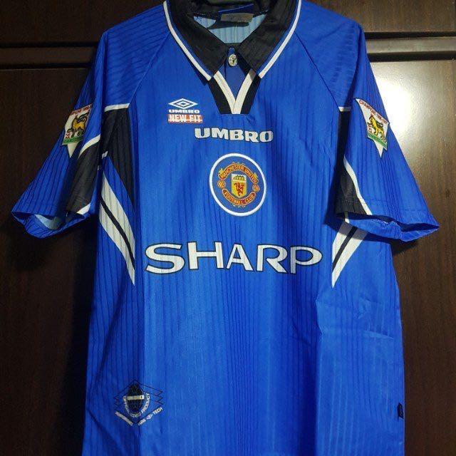Cantona #7 Manchester United 1996-1997 Home Football Nameset for shirt