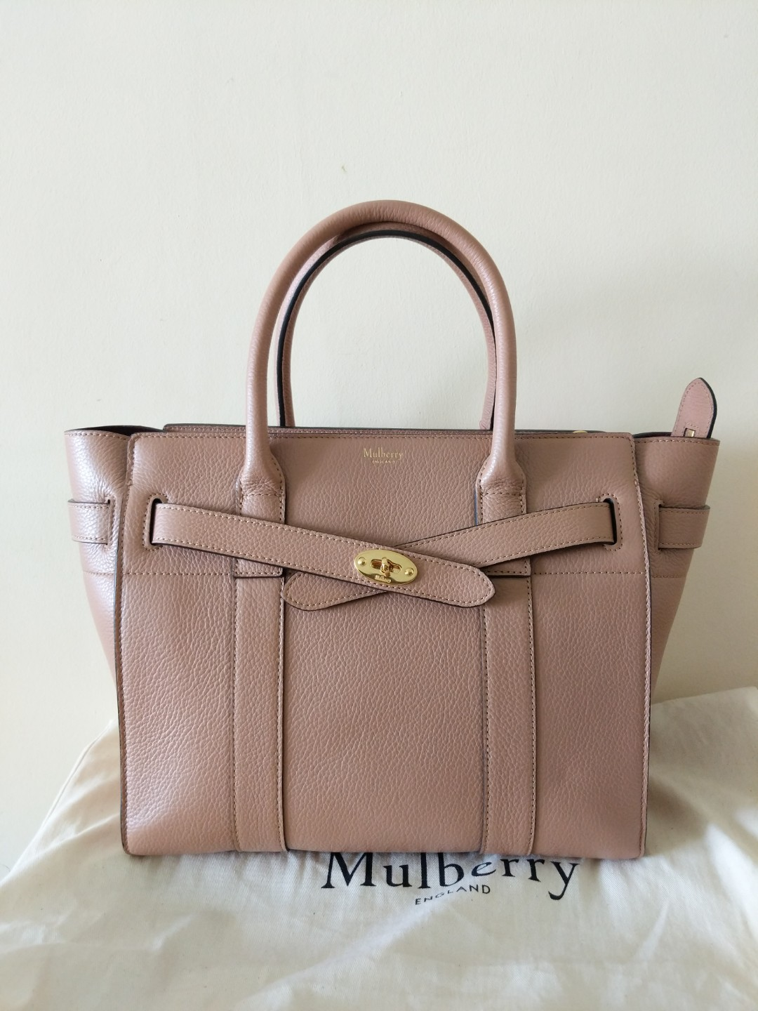 845a6f0ebe5 BNWT Mulberry Zipped Bayswater Tote (full set), Luxury, Bags ...