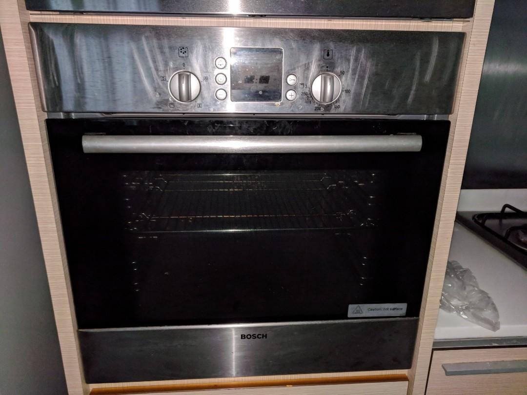 Bosch Hood Gas Stove Oven And