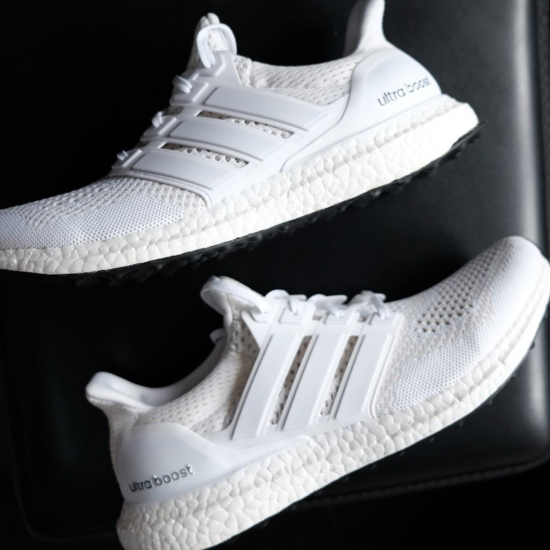 dc683835f Brand New Adidas Ultraboost V1 Triple White Size 10