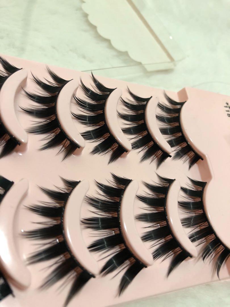 Cosplay false lashes litfly