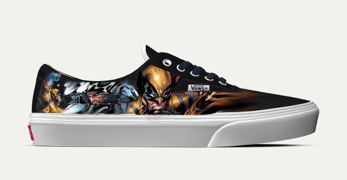 2acc9296cd Customize Vans (Marvel) - Wolverine