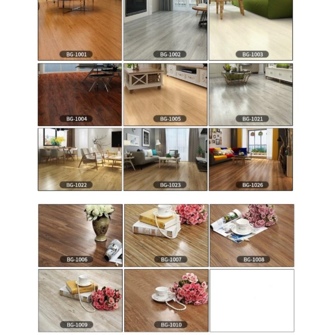 Diy Self Adhesive Flooring Vinyl Sticker Home Wall Decor