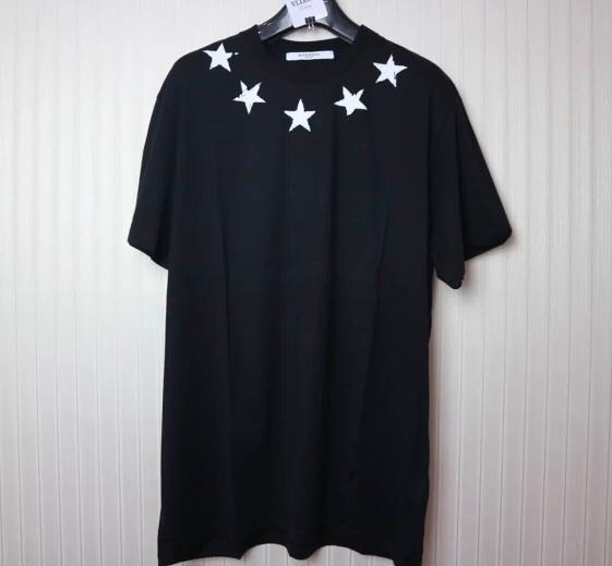 560d7f88497870 Givenchy Star T-shirt, Luxury, Apparel, Men's on Carousell