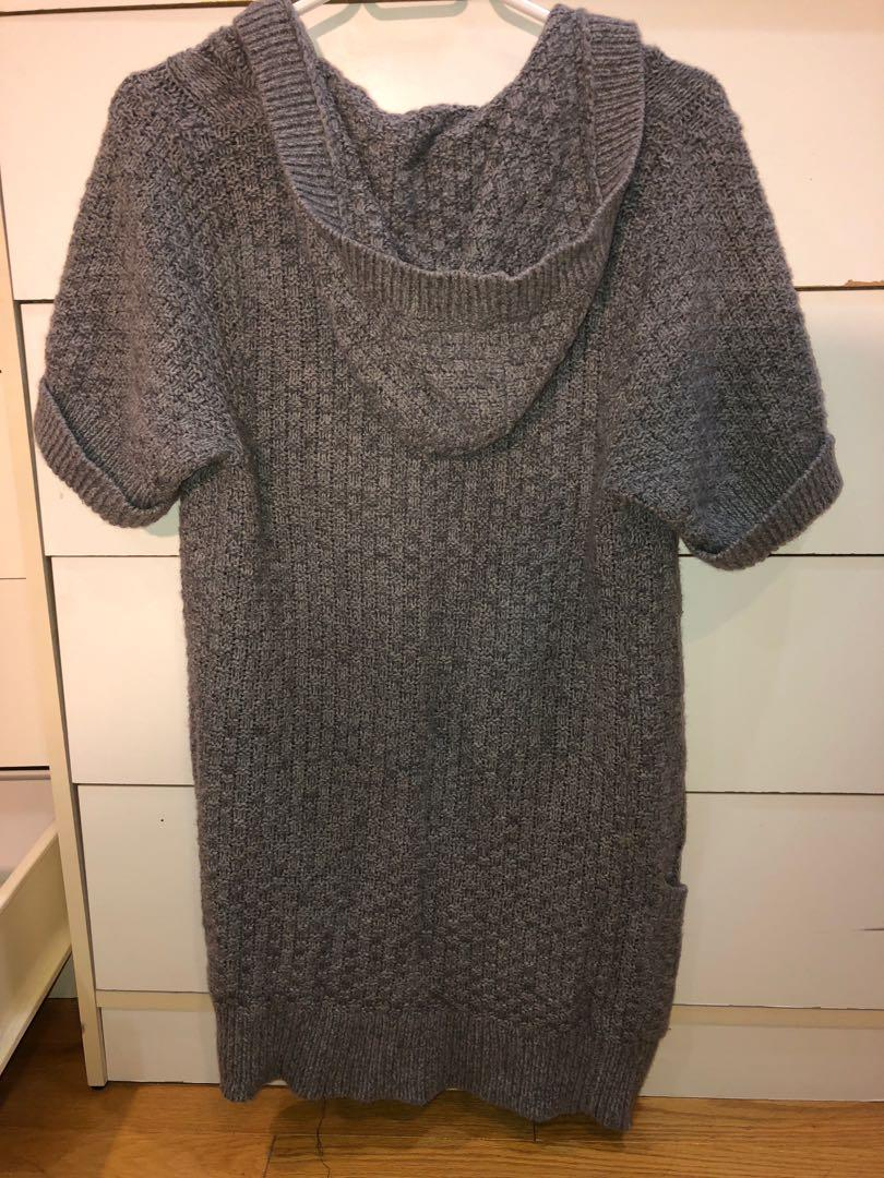 Grey Knit Holister Sweater