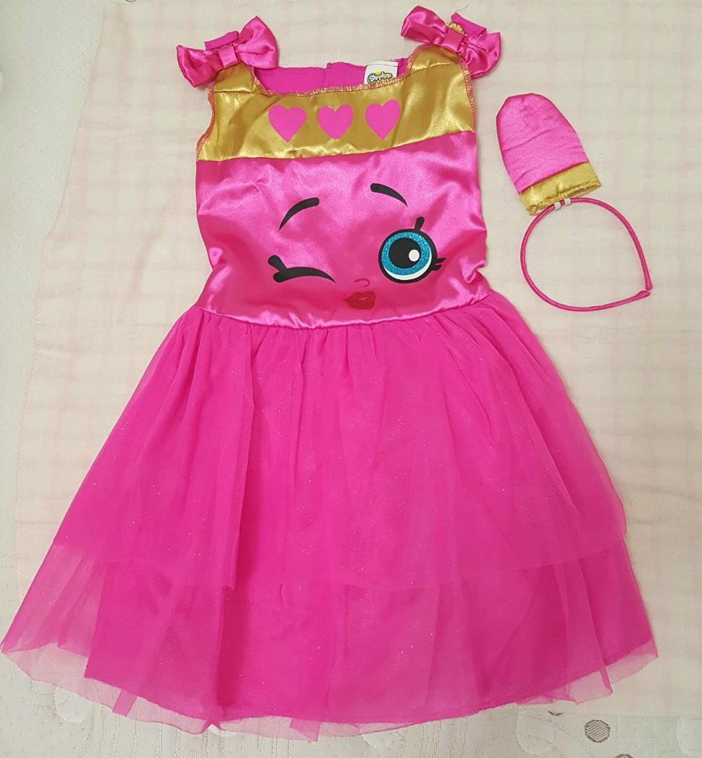 "Halloween Costume "" Shopkins Lippy Lips"""