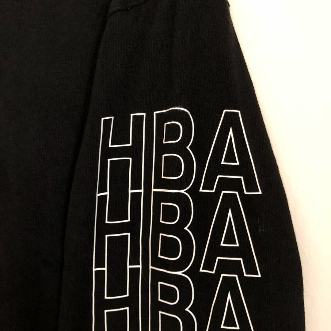 ff35781fd1c5 HOOD BY AIR HBA LONG SLEEVE TEE SHIRT