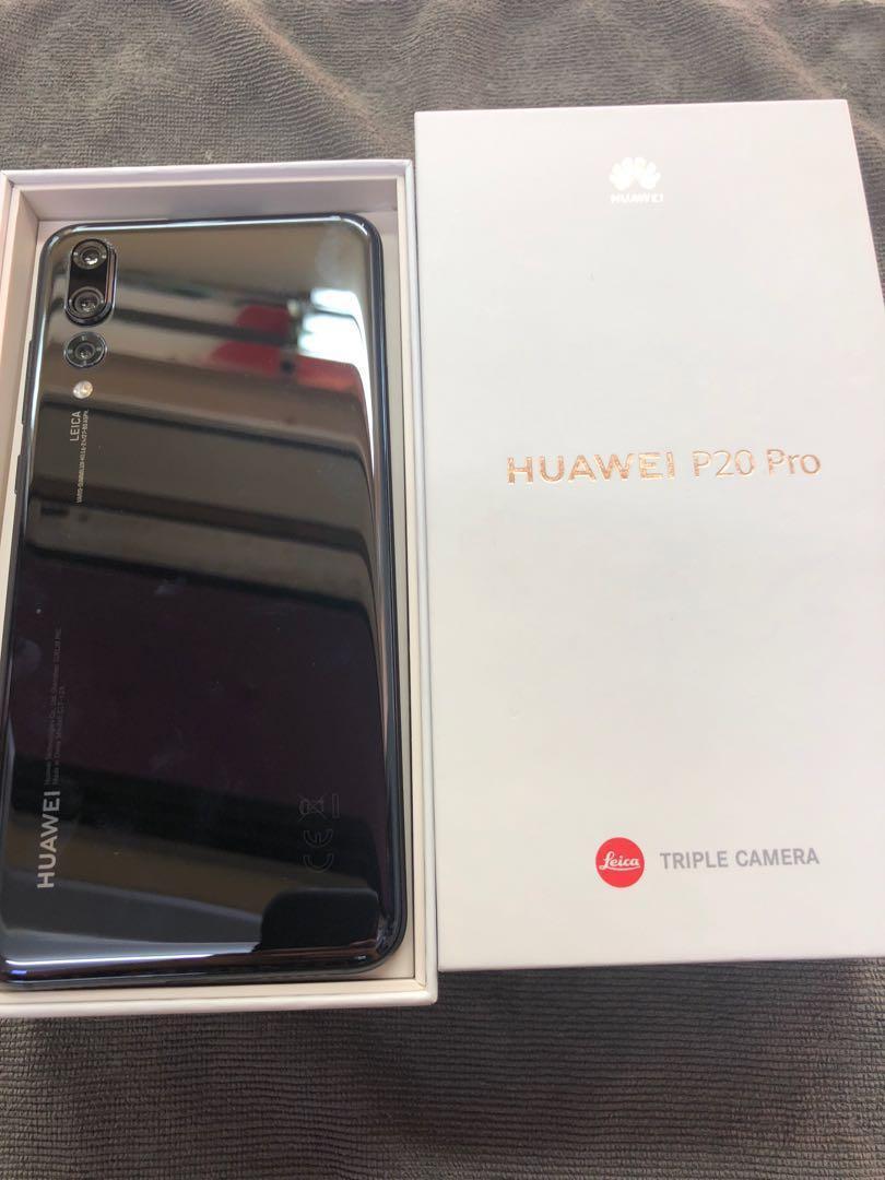 Huawei p20 Pro one week used black, Mobile Phones & Tablets