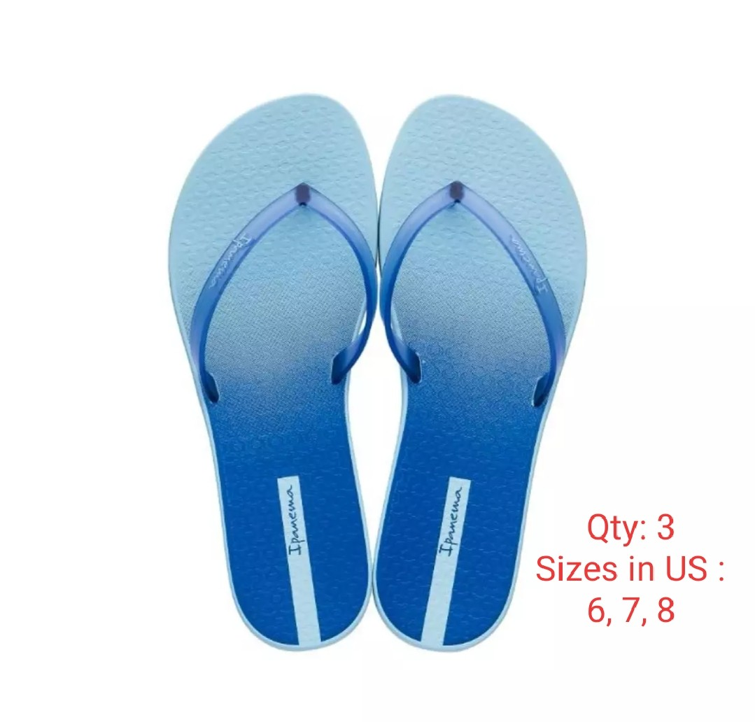 f64fe293a Ipanema Slippers light blue US6