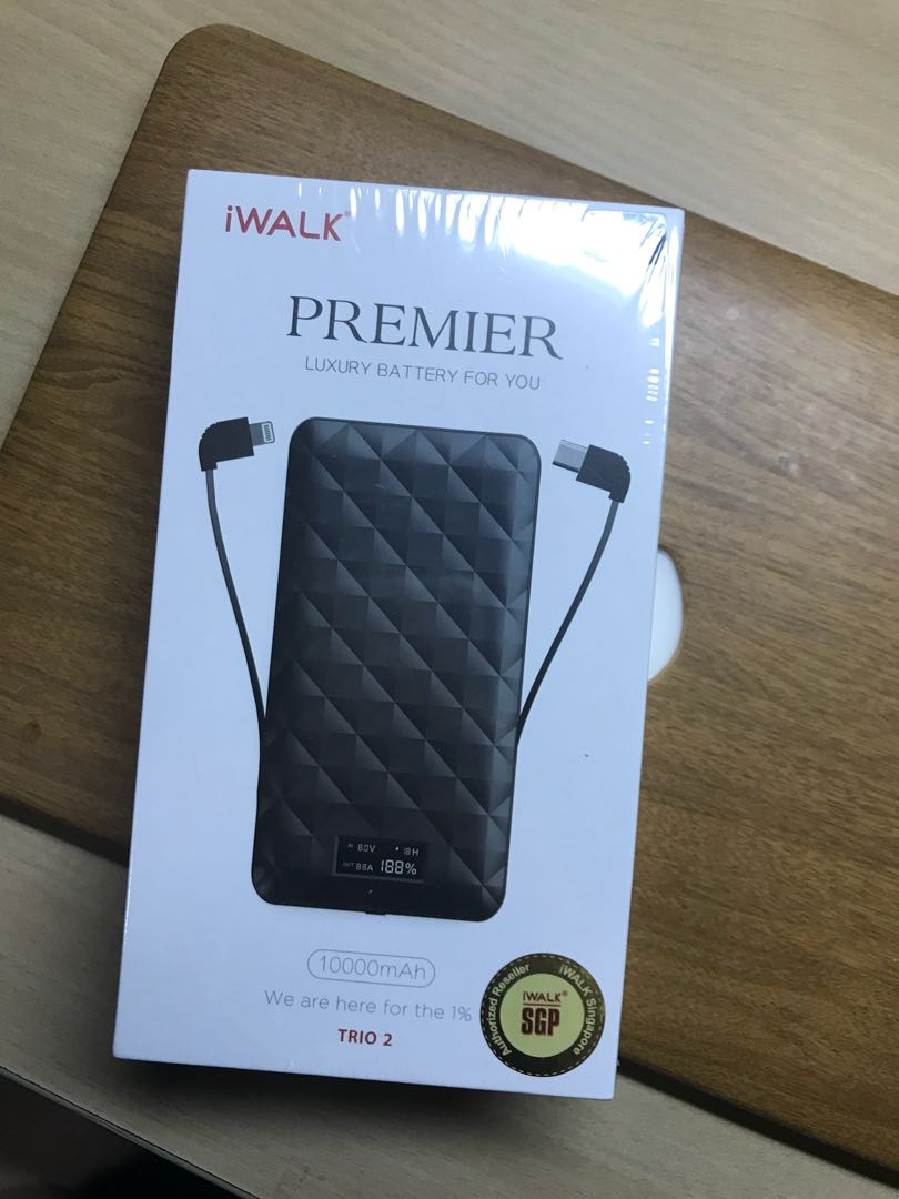 low priced 3efc2 273a3 iWalk Premier Luxury Battery Portable Charger