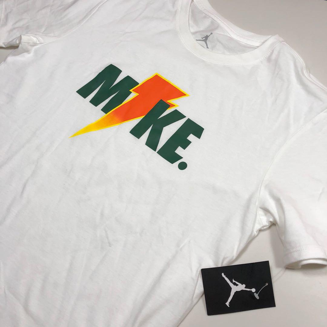 "d76b9bc02cda Jordan Gatorade Collab ""Like Mike"" Lightning Shirt"
