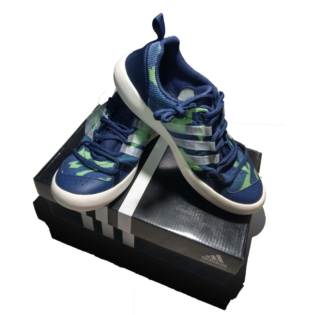 outlet store 51f08 bdc65 Kasut Adidas Climacool Boat Lace