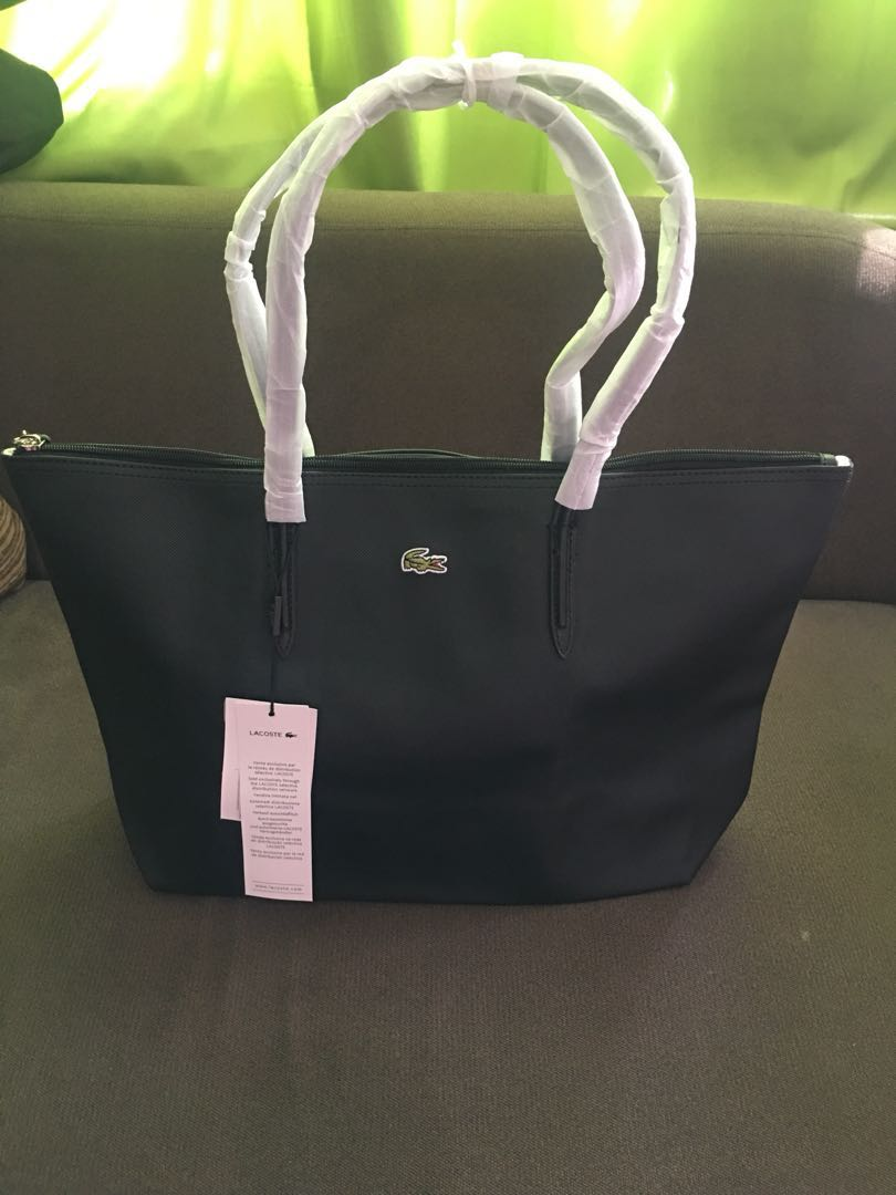 d6b4605009 LACOSTE tote bag - high quality Made in KOREA, Women's Fashion, Bags ...