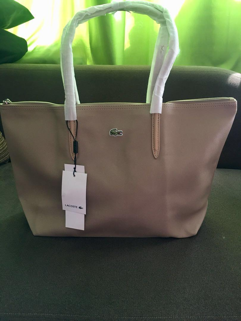 047ea33f82 LACOSTE tote bag - high quality made in KOREA on Carousell