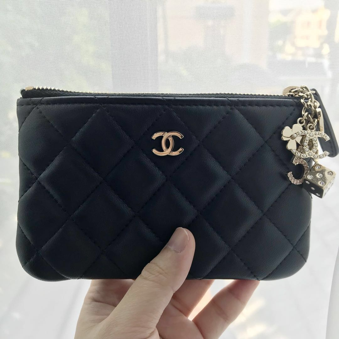Limited Edition Chanel O Case with Charms 3108e483d7097
