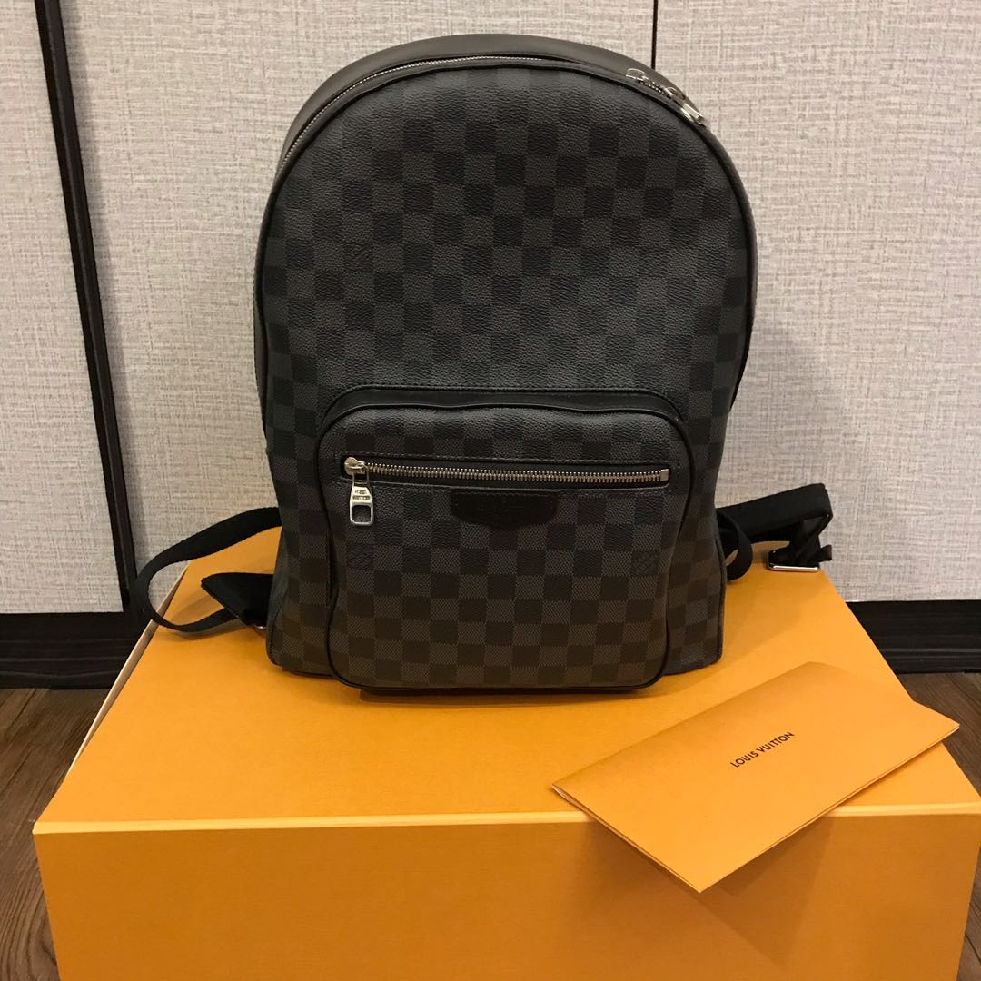 Louis Vuitton Josh Damier Graphite Backpack 6cb56dbdd46