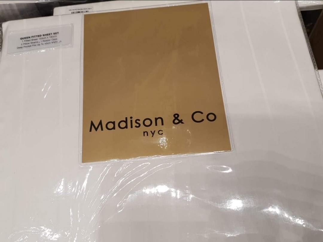 Madison N Co Bamboo Part Ii Fitted Quilt Furniture Home Decor Cushions Linen On Carousell