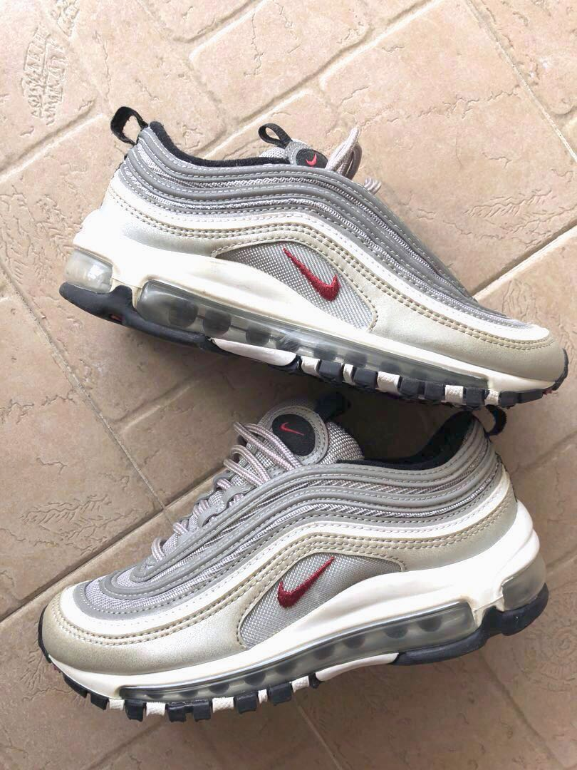 604a6070f9 Nike Air Max 97 Silver Bullet, Women's Fashion, Shoes, Sneakers on ...