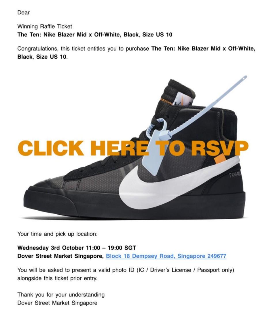 2d3e0698d596 Nike Blazer Mid Off-White Grim Reaper