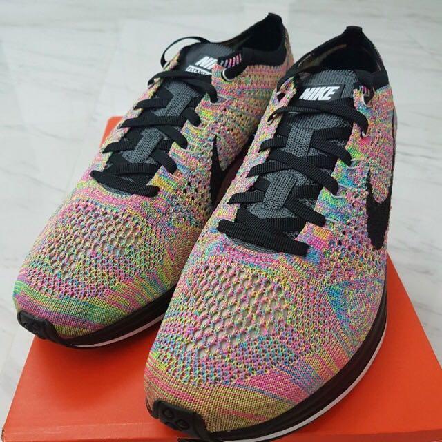 e5c405fc5160 Nike Flyknit Racer Multicolor 2.0