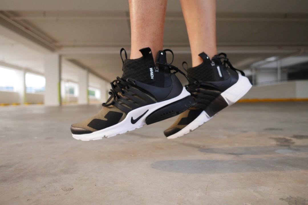 Nike Lab x Acronym Presto Olive Green