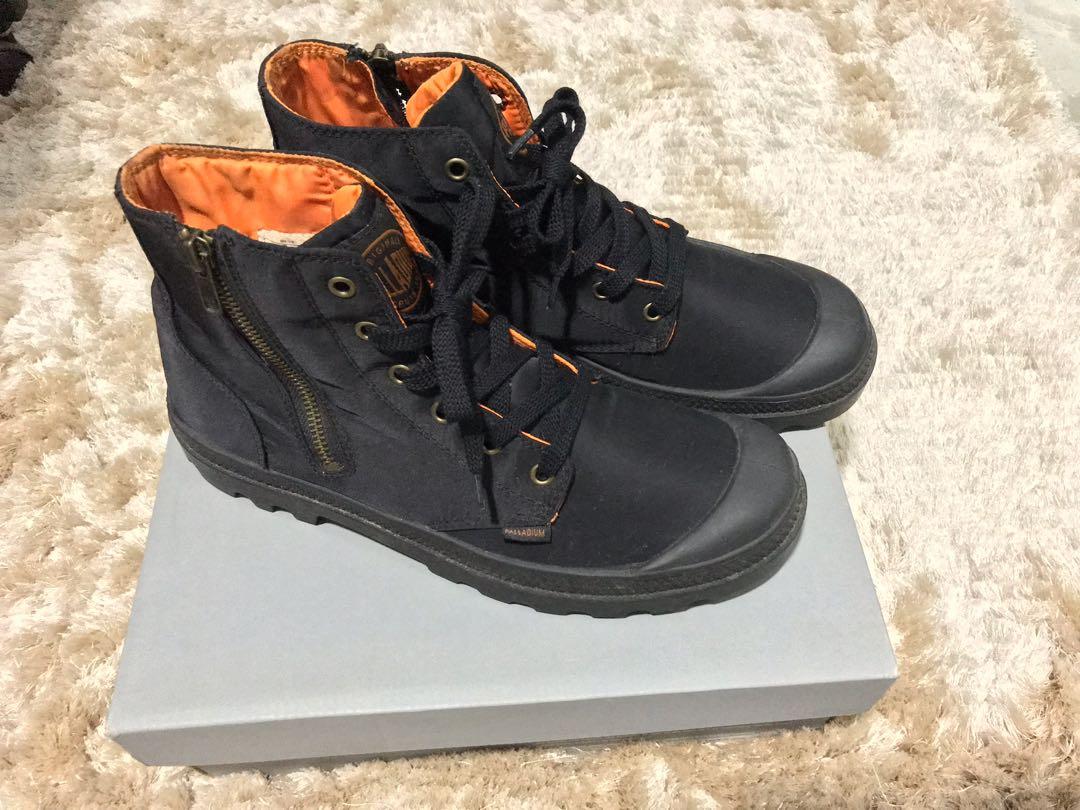 d7d2a13278 Palladium X Alpha Industries Pampa Hi boots