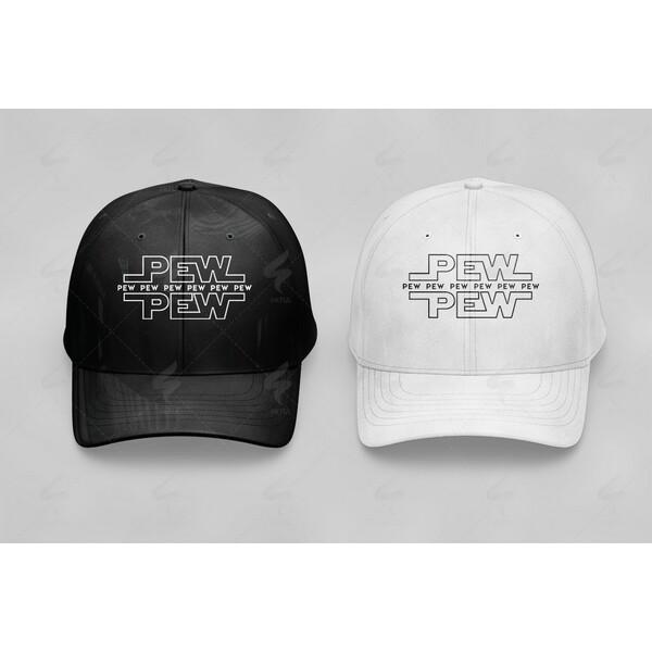 Pew Pew Pew Cap Design d6728093e1a
