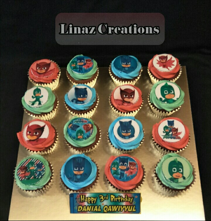 Pj Mask Theme Birthday CupCakes Need A CUSTOMISED CUPCAKES Contact