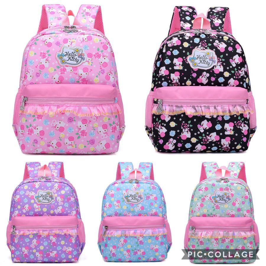 79e4e5f05d PO  children kids Hello Kitty School Bag