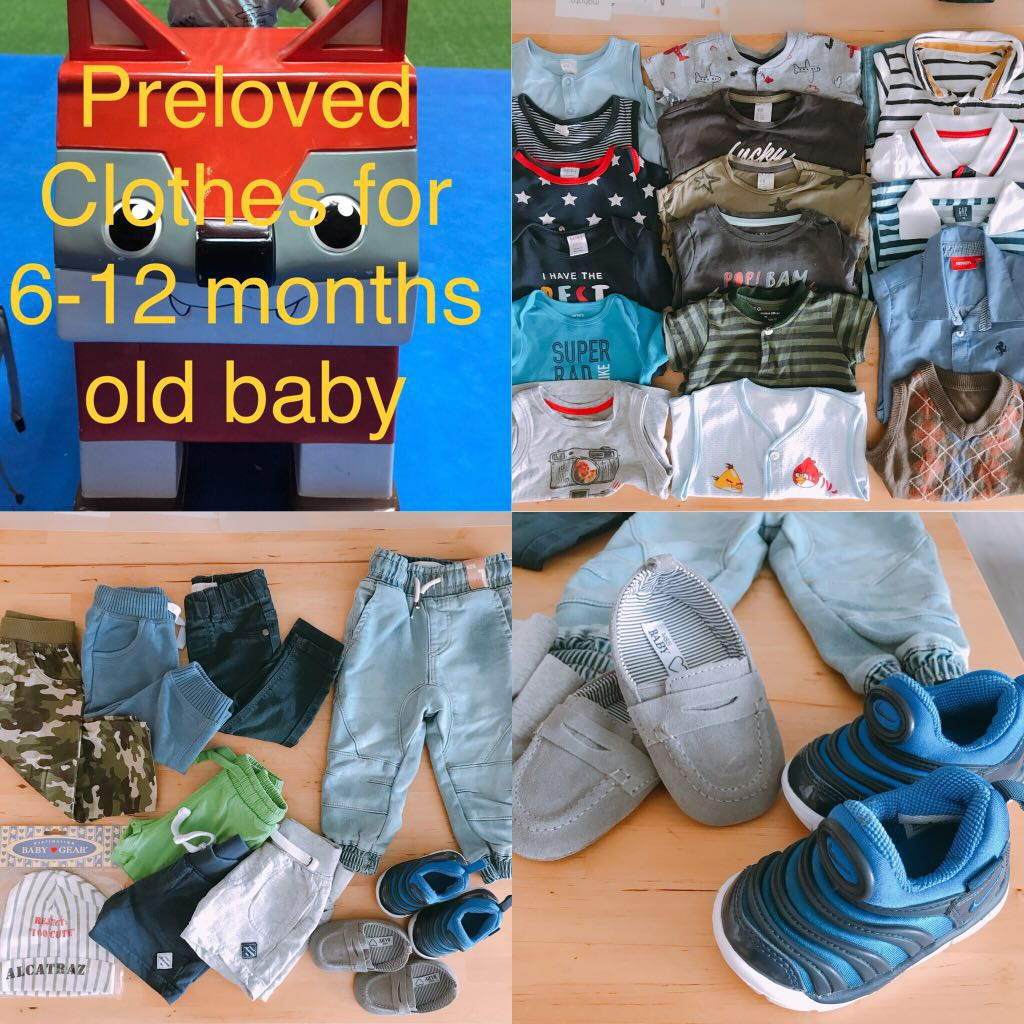 e62a8aba0cc7d Preloved Baby Boy s Clothes   Shoes Bundle (6-12 months old)