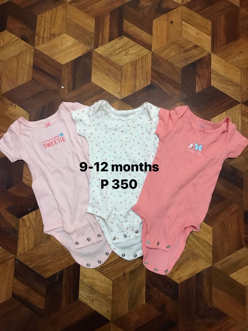 a8bea9af31b Preloved baby girl clothes