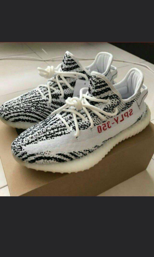 9d815fe02 REDUCED  adidas originals Yeezy Boost 350 V2 Zebra PK