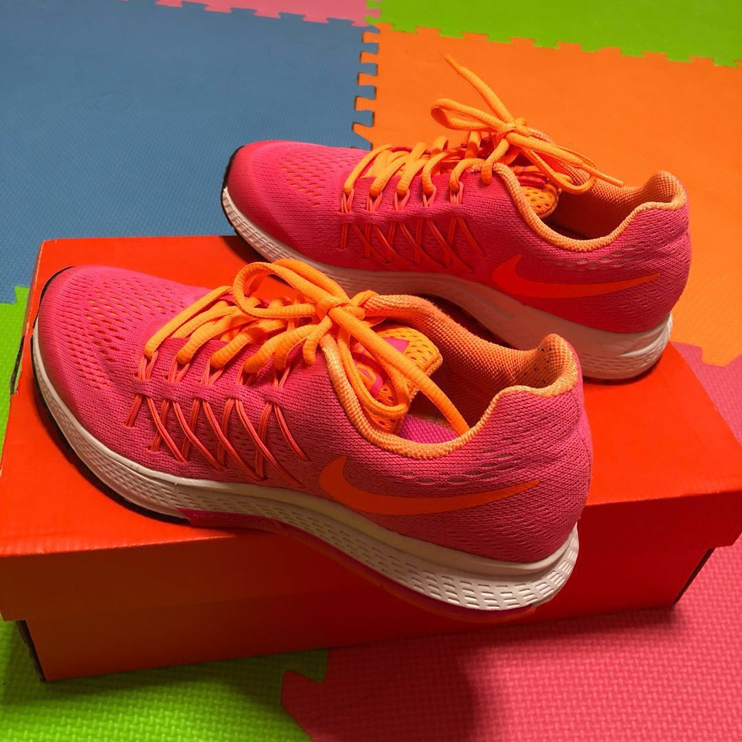 5a6b91f14b0d ⚡️Sale⚡ Preloved Nike Zoom Pegasus 32 Pink Orange