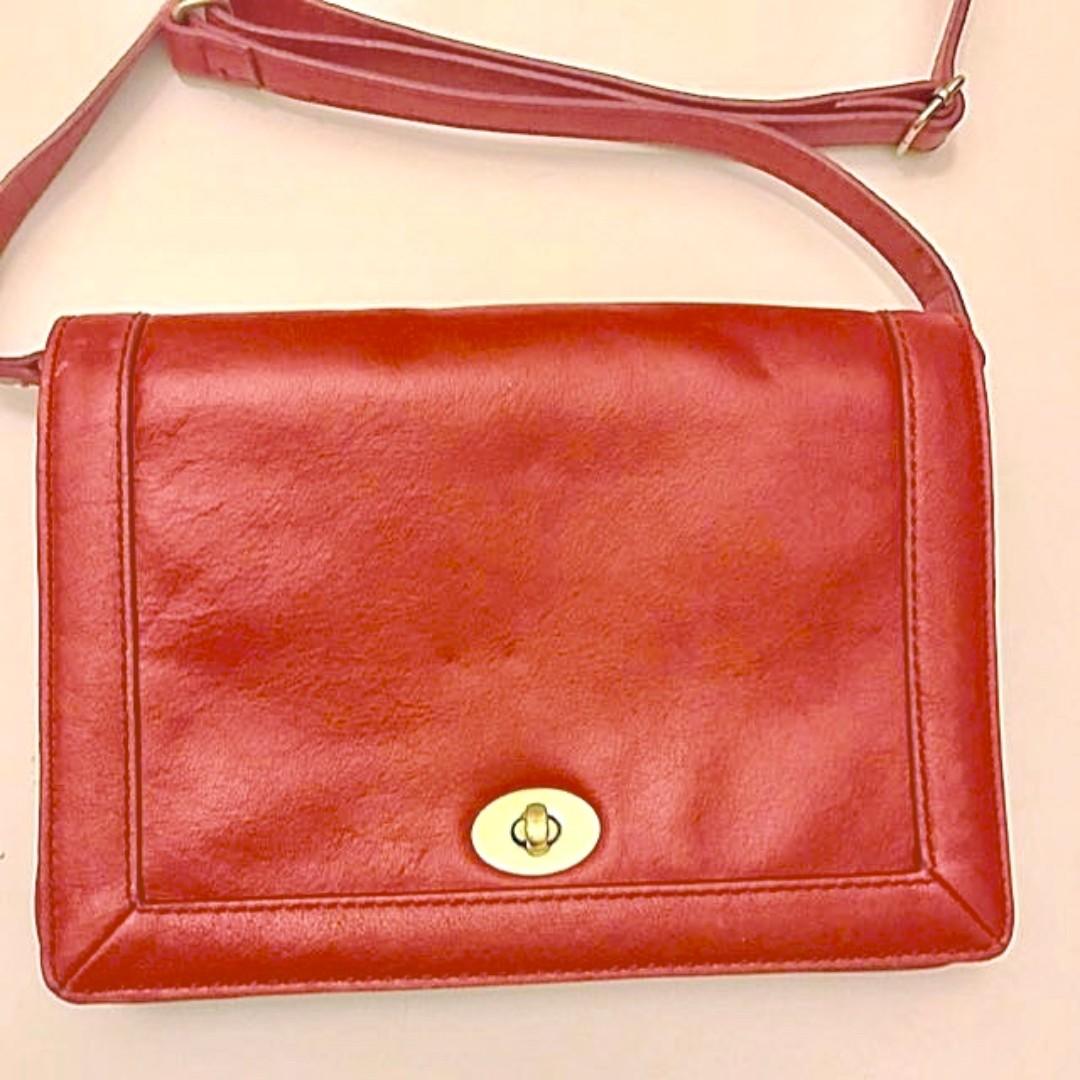 4dcf4e9efa5db SALE! Red J Crew Tilary Handbag (shoulder