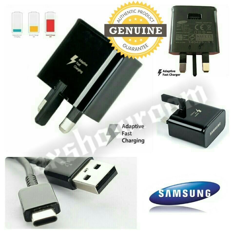 Samsung Original S9 / S9+ Fast Charger & Type-C Cable Set