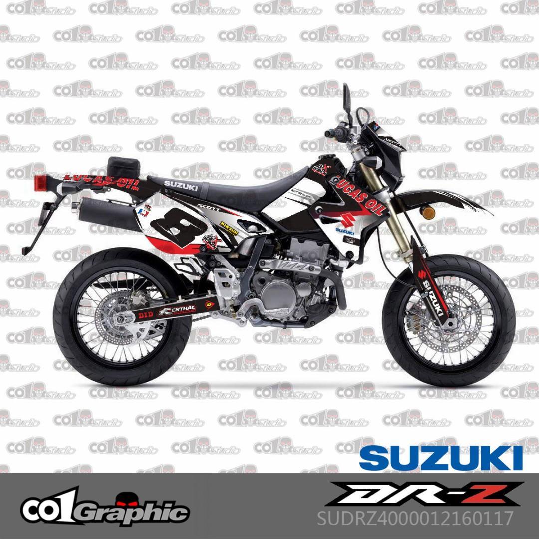 Suzuki DRZ400S DRZ400SM DRZ400 DRZ full fairings coverset