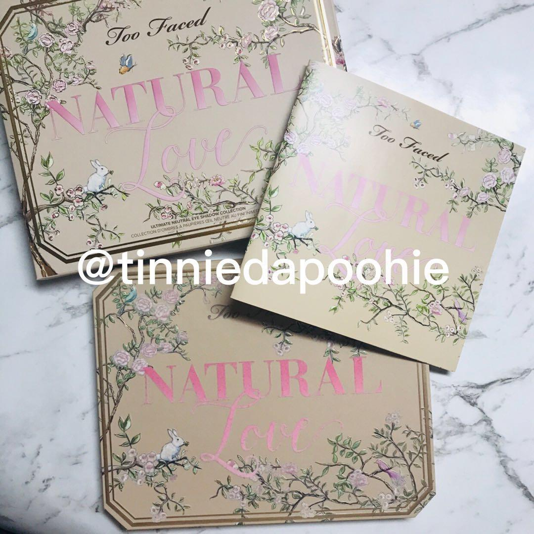 Too Faced Natural Love Eyeshadow Palette Limited Edition