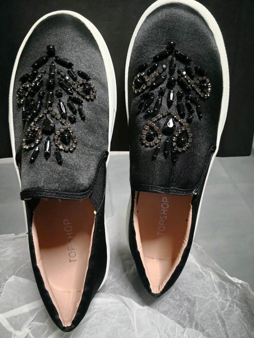 8d12fd830b3 Topshop Twinkle slip on ladies shoe