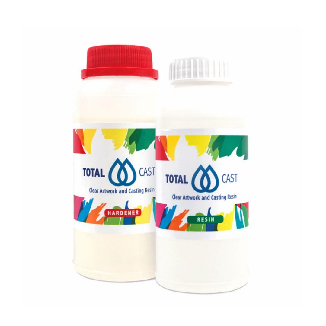totalCAST non-toxic clear casting or coating art resin