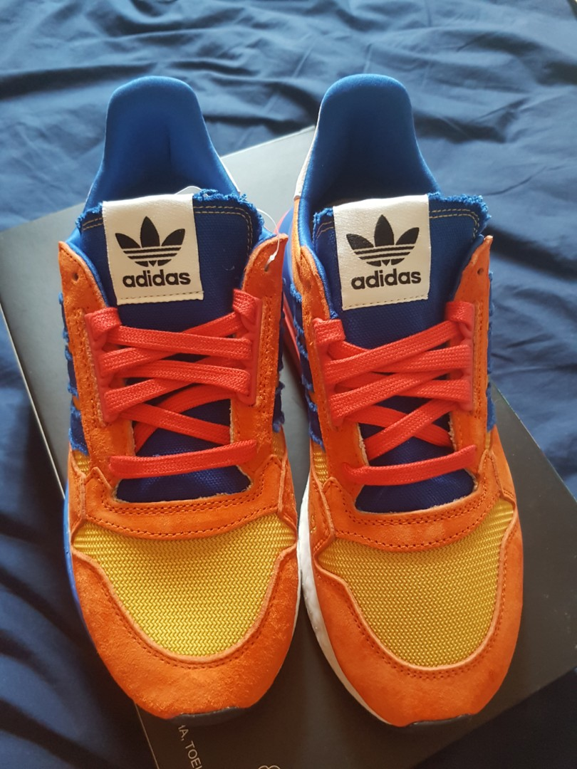 new style e427e b2f4c Adidas ZX 500 Dragon Ball Z Son Goku, Mens Fashion, Footwear