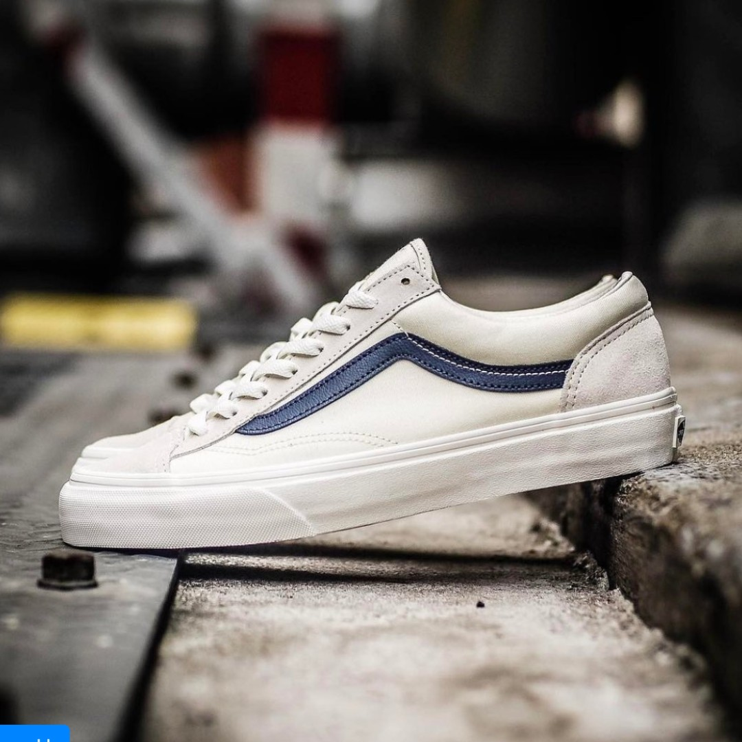df3a0d288595d9 Vans Old Skool Style 36 Marshmallow Dress Blue