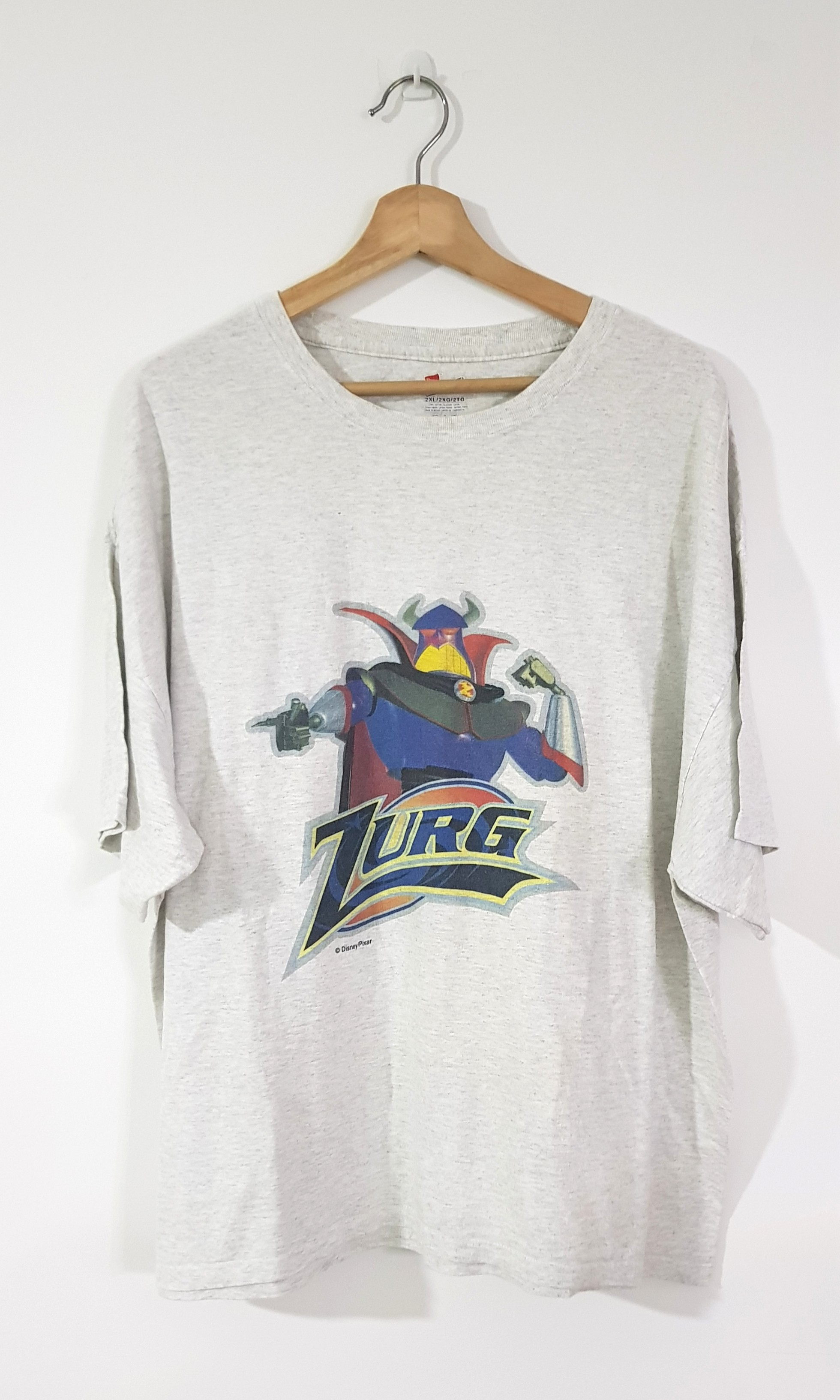 e4fea2935 Vintage Zurg Tshirt, Men's Fashion, Clothes, Tops on Carousell